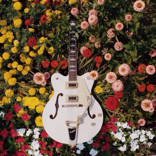 Andrew Beck's Gretsch Electromatic G5422TG Snow Crest White