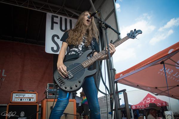 Louey Peraza's Music Man Stingray Bass