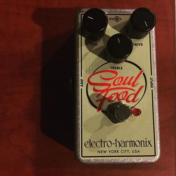 Josh Benton's Electro-Harmonix Soul Food Overdrive