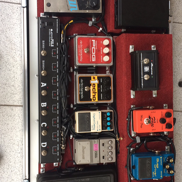 Marcel Soto's Electro-Harmonix #1 Echo Digital Delay Guitar Effects Pedal