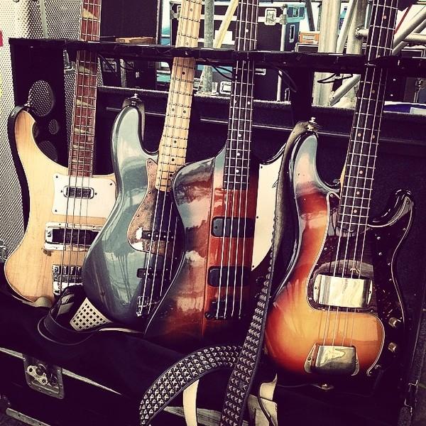 Josh Smith's Gibson Thunderbird IV Bass