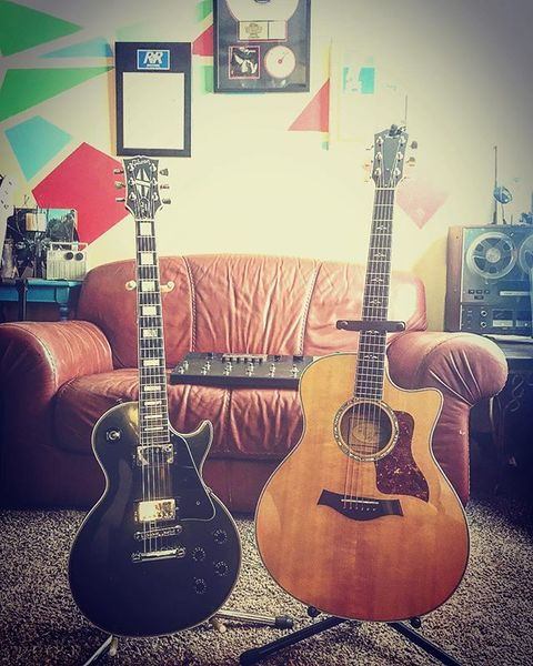 Brian Vodinh's Taylor 314CE Acoustic Guitar