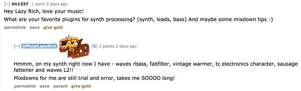 Lazy Rich's Waves Renaissance Bass Plugin
