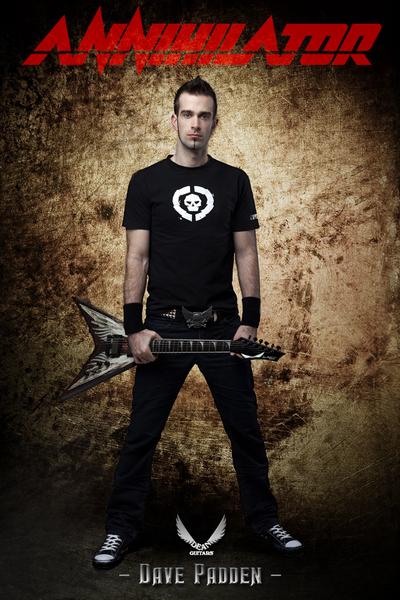 Dave Padden's Dean VMNT Dave Mustaine Angel of Deth