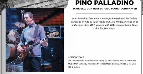 Pino Palladino's Boss OC-2 Octave Pedal