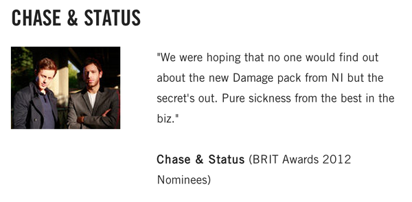 Chase & Status's Native Instruments Damage