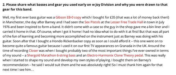 Peter Hook's Electro-Harmonix XO Stereo Clone Theory Analog Chorus / Vibrato Guitar Effects Pedal