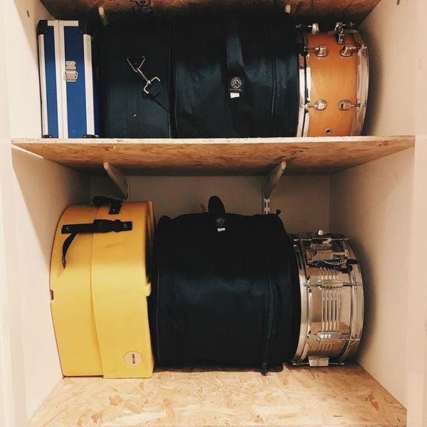Si Martin's Hardcase Drum Cases