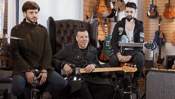 Fernando Ruiz Diaz's Fender Starcaster Semi-Hollowbody Electric Guitar