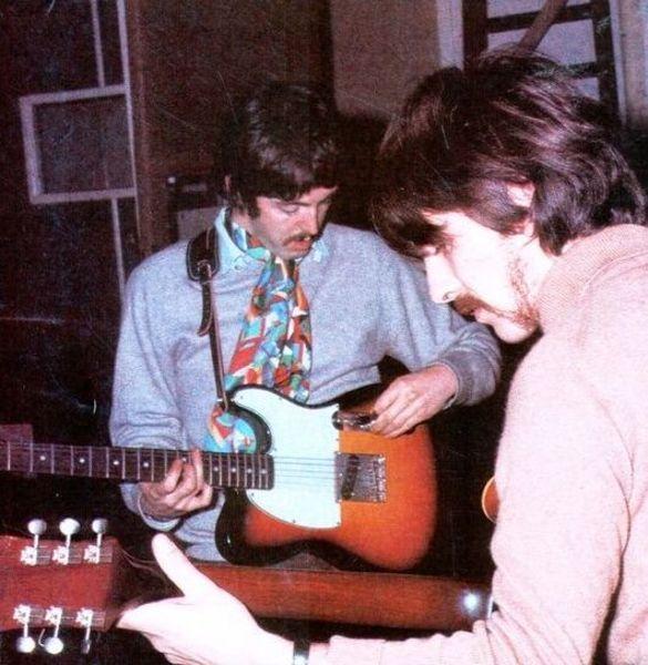 Paul McCartney's 1964 Fender Esquire Sunburst