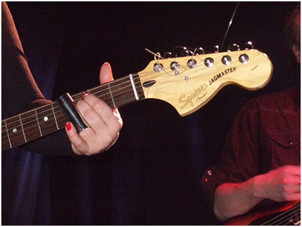 Lydia Lunch's Squier Jagmaster Electric Guitar