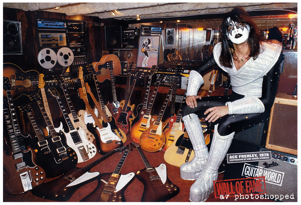 Ace Frehley's 1975 Gibson Les Paul Standard guitar