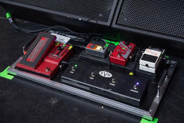 Christian Andreu's DigiTech Drop Polyphonic Drop Tune Pedal