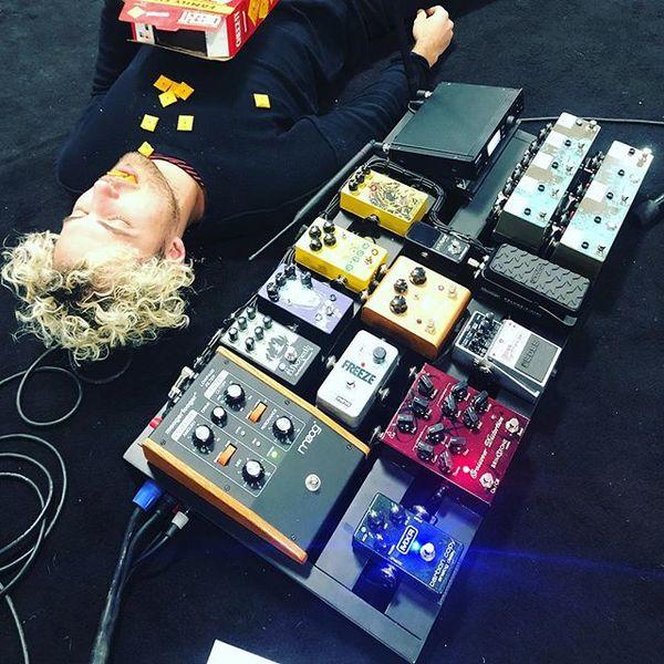 Kevin Ray's Electro-Harmonix Freeze Sound Retainer Pedal