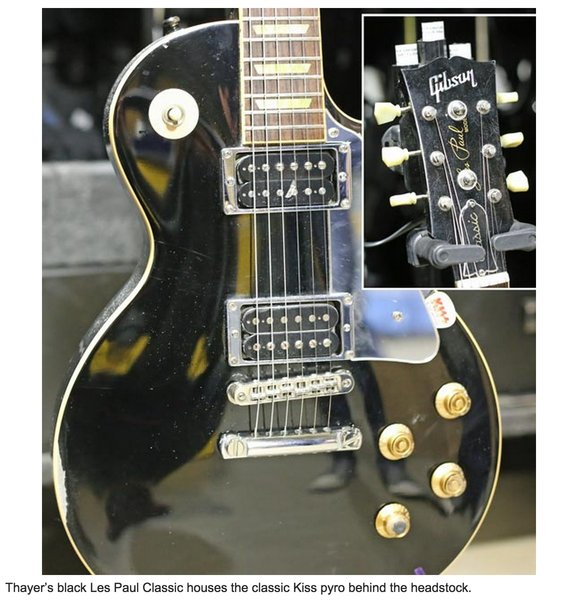 Tommy Thayer's Gibson Les Paul Classic