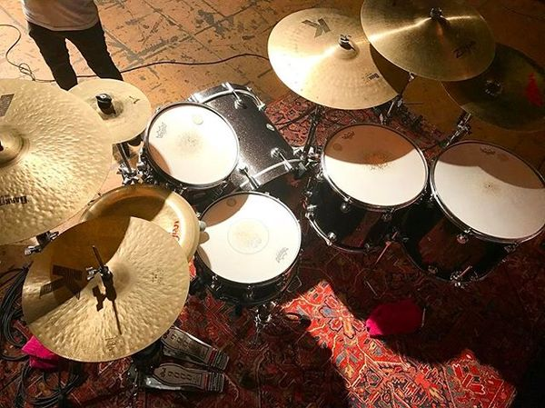 Pablo Viveros's DW 9000 Cymbal Stand