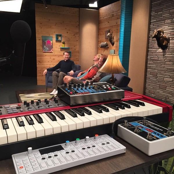 Reggie Watts's Teenage Engineering OP-1 Portable Synthesizer