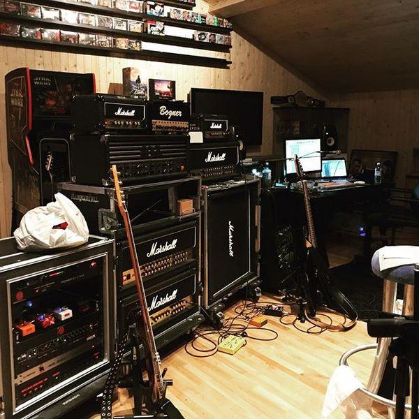 Pontus Norgren's Marshall JVM Series JVM410H 100W Tube Guitar Amp Head