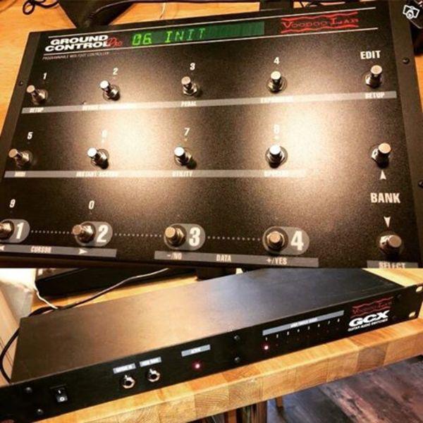 Henrik Danhage's Voodoo Lab GCX Guitar Audio Switcher