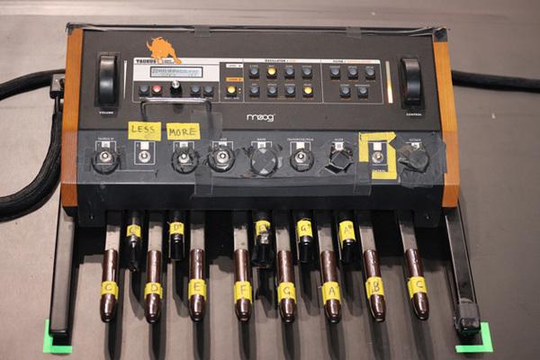 Ian Hill's Moog Taurus 3 Bass Pedals