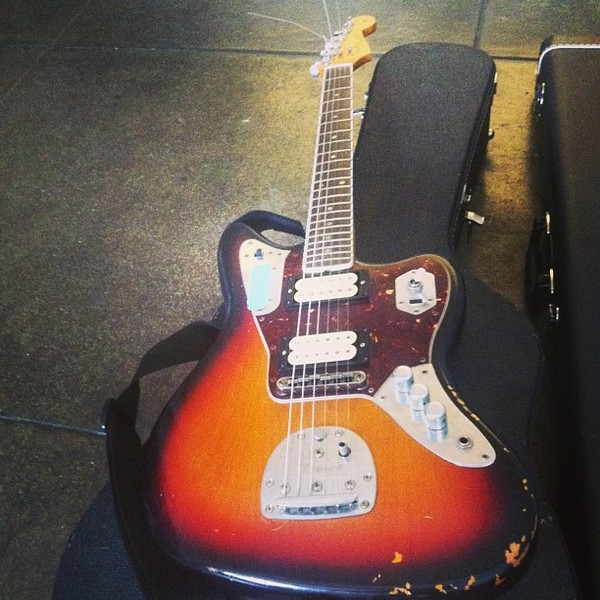 Travis Richter's Fender Kurt Cobain Jaguar
