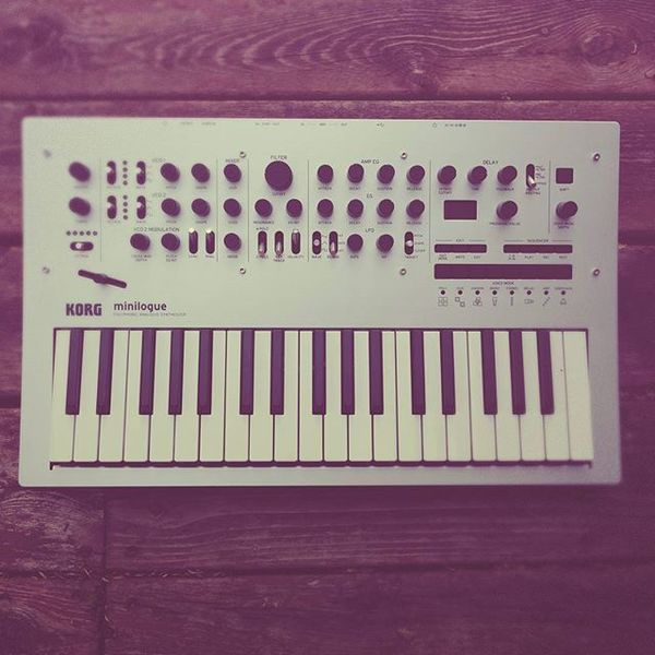 Nigel Good's Korg Minilogue Analog Synthesizer