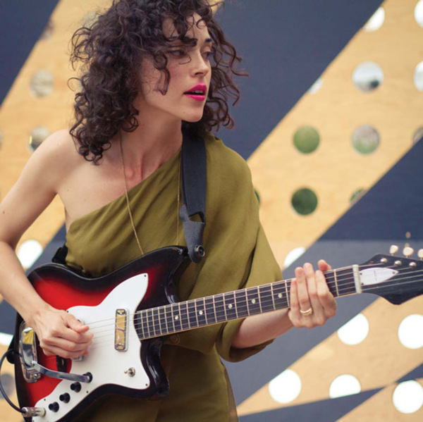 St. Vincent's 1967 Harmony Bobkat Electric Guitar