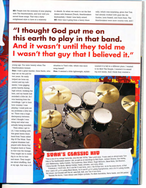 Stan Lynch's DW 5000 Single Bass Drum Pedal