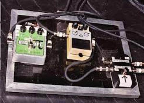 John Paul Jones's Boss SD-1 Super OverDrive