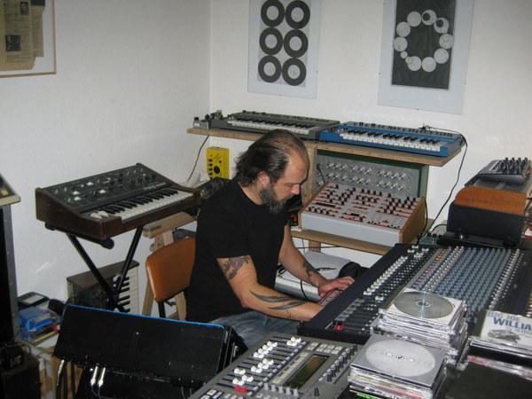 Mika Vainio's Moog Prodigy Synthesizer