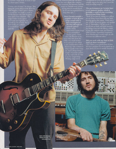 John Frusciante's Gibson ES-175