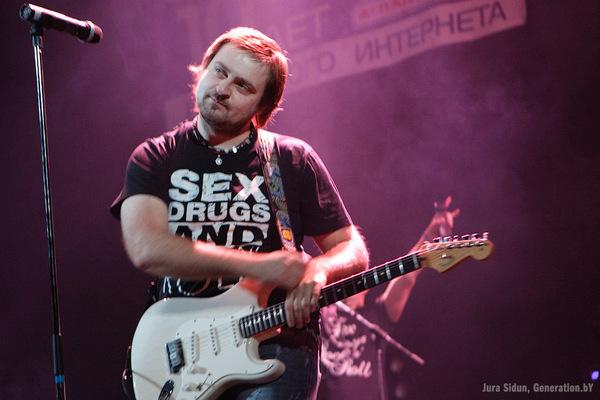 Vladimir Pugach's Fender Standard Stratocaster Electric Guitar