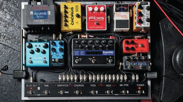 Ben Gibbard's Xotic Effects BB Preamp