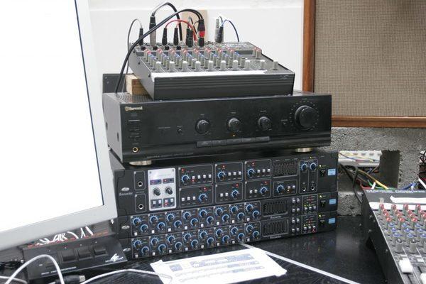 Brian Eno's Mackie Micro-Series 1202 (First Series)