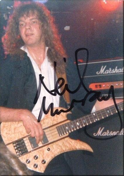 Neil Murray's BC Rich Mockingbird Bass