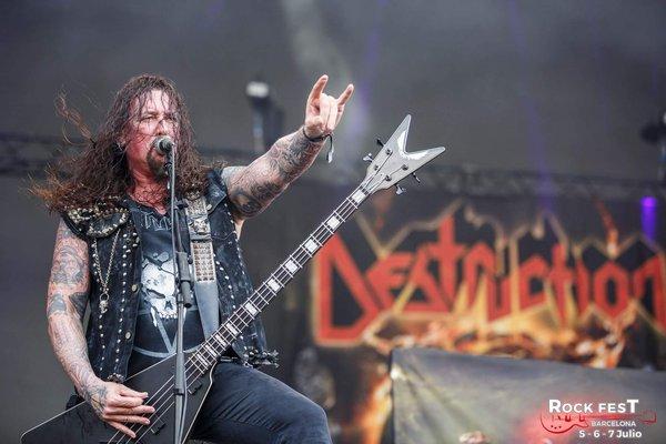 Marcel Schirmer's Dean V Metalman Bass