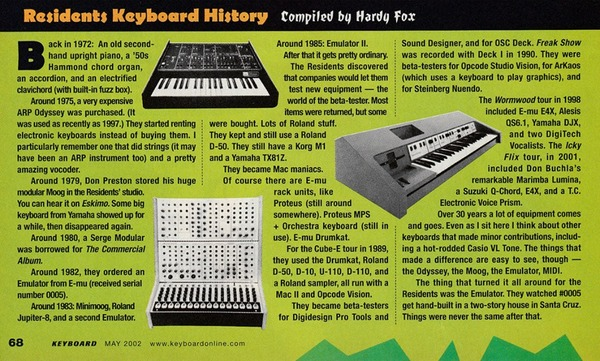 The Residents's Roland U-110
