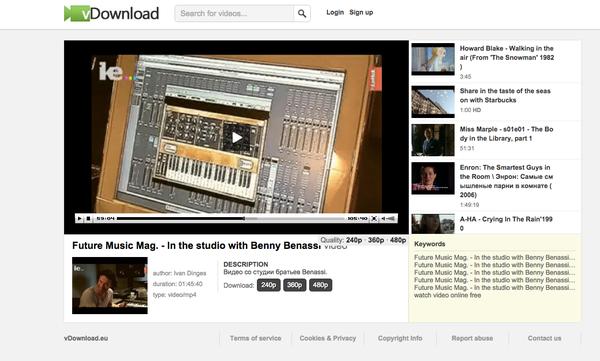 Benny Benassi's Arturia Minimoog Mini V Software Synthesizer