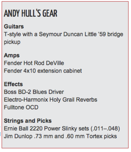 Andy Hull's Boss BD-2 Blues Driver