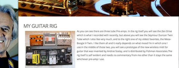 John McLaughlin's Seymour Duncan Twin Tube
