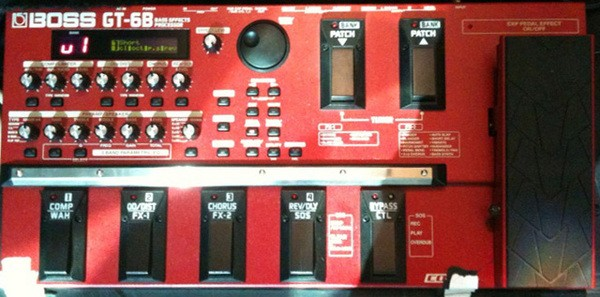 Victor Wooten's Boss GT-6B Bass Effects Processor