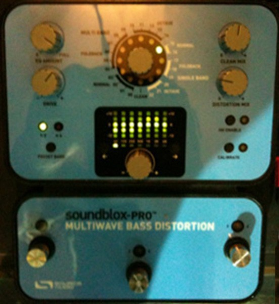 Victor Wooten's Source Audio Soundblox Pro Multiwave Bass Distortion Pedal