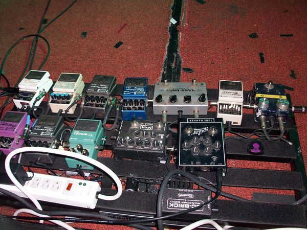 Jeff Caxide's Boss BF-2 Flanger