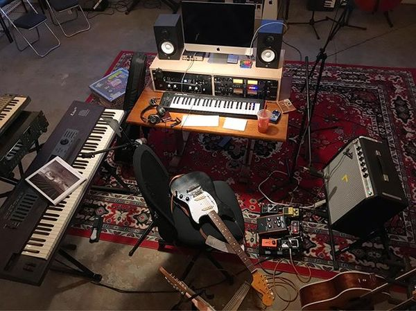 Martin Courtney's TC Electronic PolyTune Polyphonic Tuner Pedal