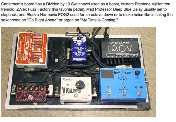 Vigilante Carlstroem's Electro-Harmonix POG2 Polyphonic Octave Generator Guitar Effects Pedal