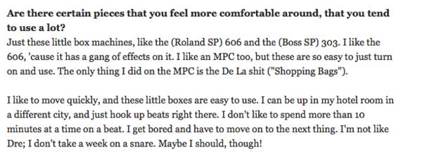 Madlib's Roland SP-606
