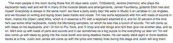 Timbaland's Korg MicroKORG Synthesizer/Vocoder