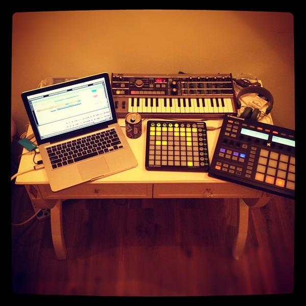 Dj Rafik's Korg MicroKORG Synthesizer/Vocoder