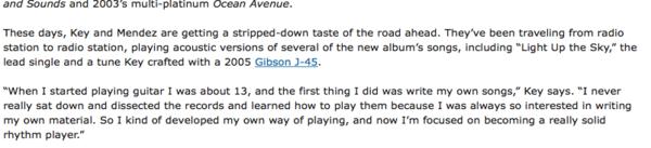 Ryan Key's Gibson J-45