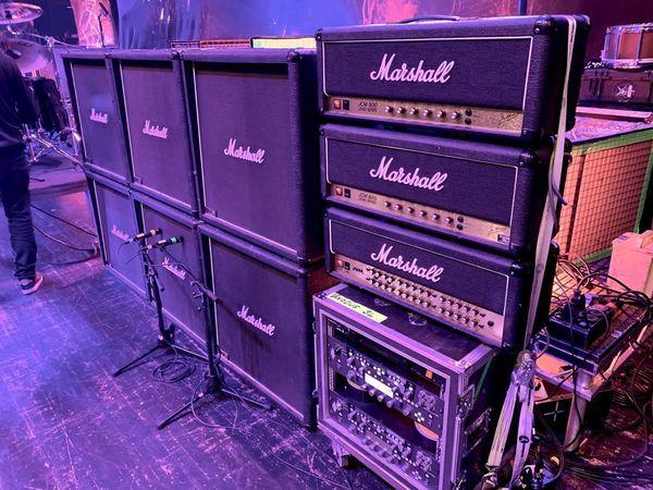Gary Holt's Marshall JVM Series JVM410H 100-Watt Tube Guitar Amp Head